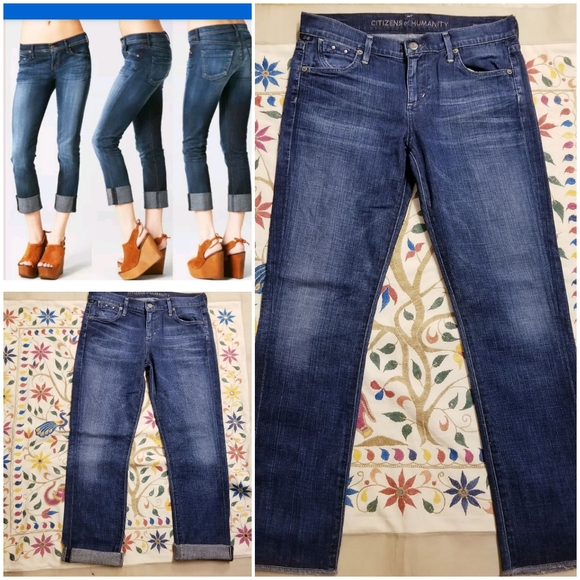 Citizens Of Humanity Denim - Citizens of Humanity Dani Cropped Straight Leg